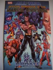 All New Official Handbook of the Marvel Universe A-Z Update